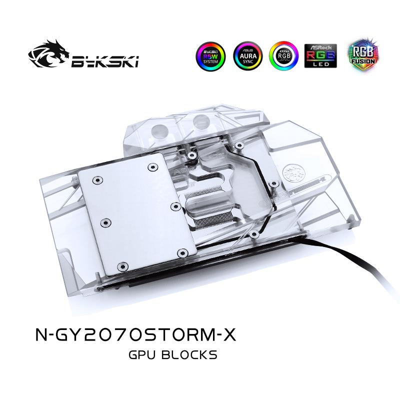 Bykski N-GY2070STORM-X GPU BLOCK Galaxy GeForce RTX 2070 Starlight