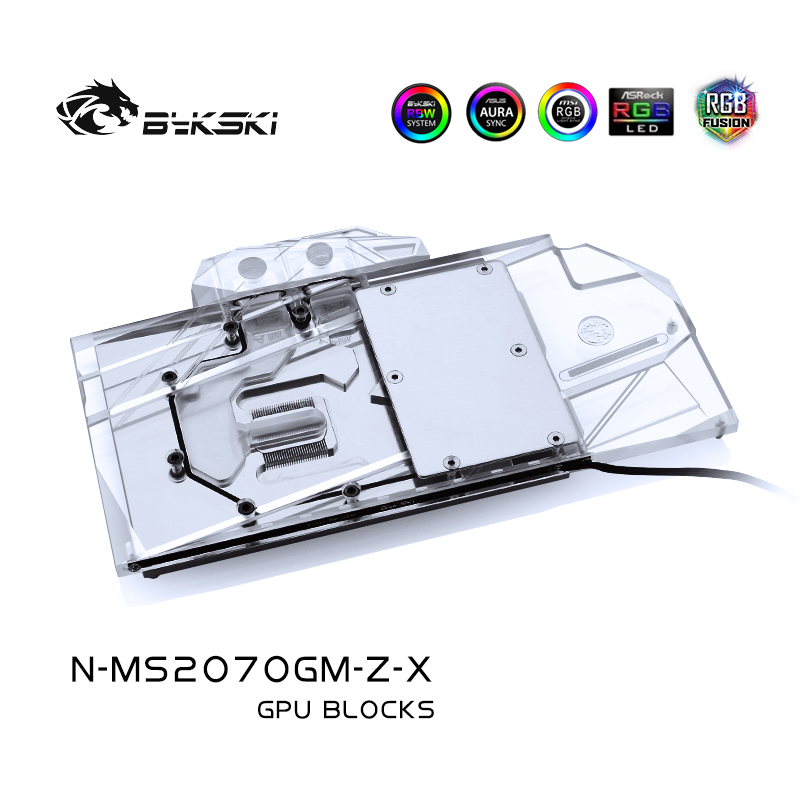 Bykski N-MS2070GM-Z-X MSI GeForce RTX2070 GAMING Z魔龙