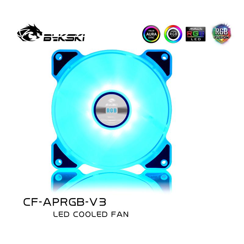 Bykski CF-APRGB-V3 LED glare chassis silent fan 12cm