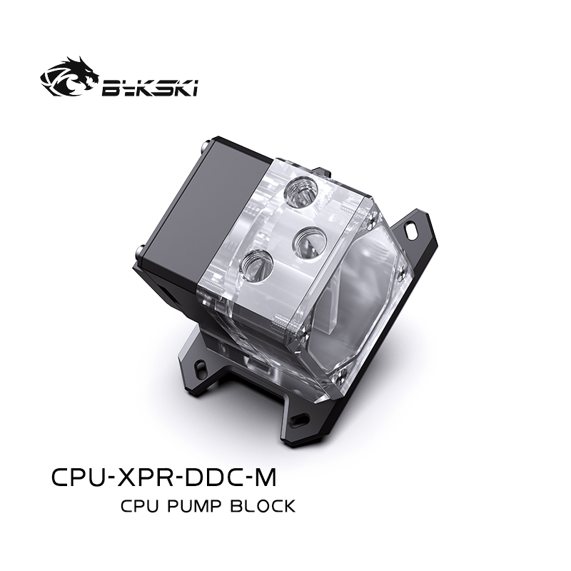 Bykski CPU-XPR-DDC-M CPUIntegrated water cooling head ITX motherboard case AM4