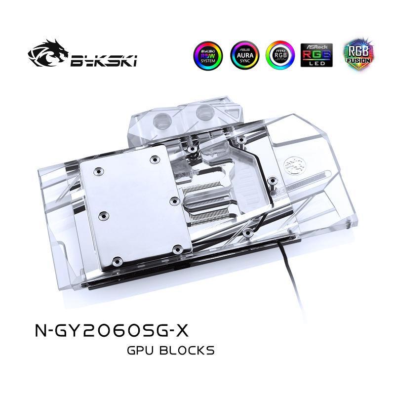 Bykski N-GY2060SG-X GPU BLOCK Galaxy/GAINWARD RTX2060general/Chasing the wind
