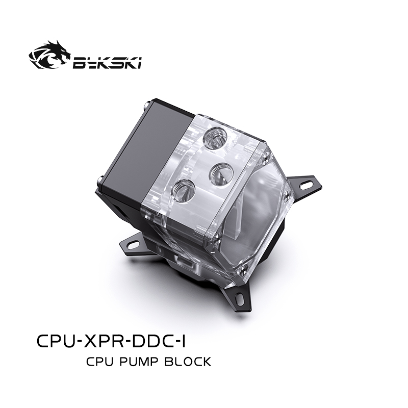 Bykski CPU-XPR-DDC-I CPUIntegrated water cooling head ITX motherboard case I7 I9