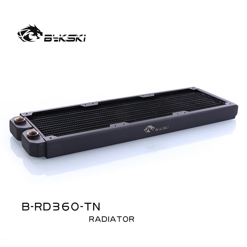 Bykski B-RD360-TN 360 pure copper water cooling row thin row radiator 12CM fan