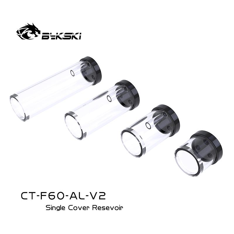 Bykski CT-F60-AL-V2 3 hole single cover cylindrical water tank