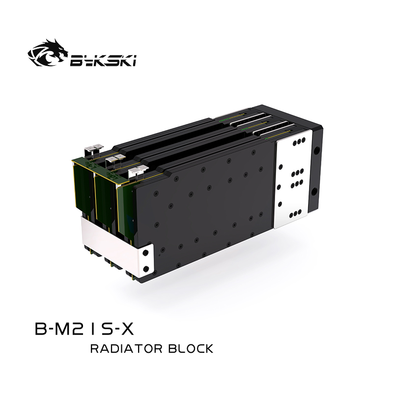 Bykski B-M21S-XWhat is the radiator and water cooler head what is the M21S/M19