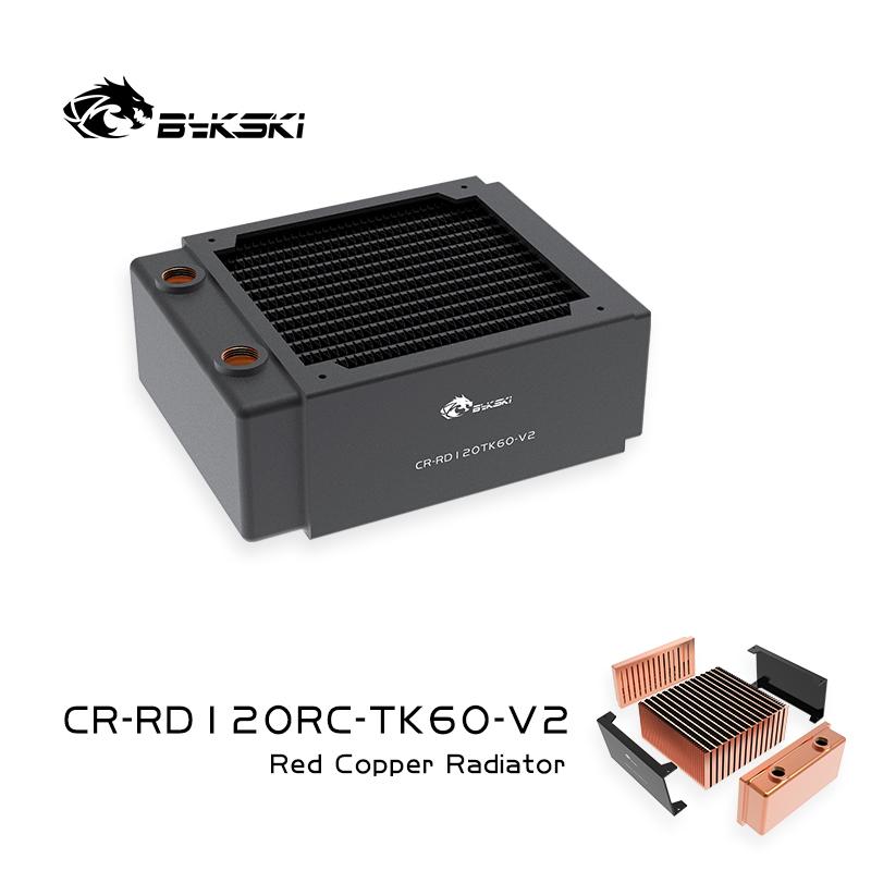 Bykski CR-RD120RC-TK60-V2 RC series Red Copper high performance Three layers thick radiator