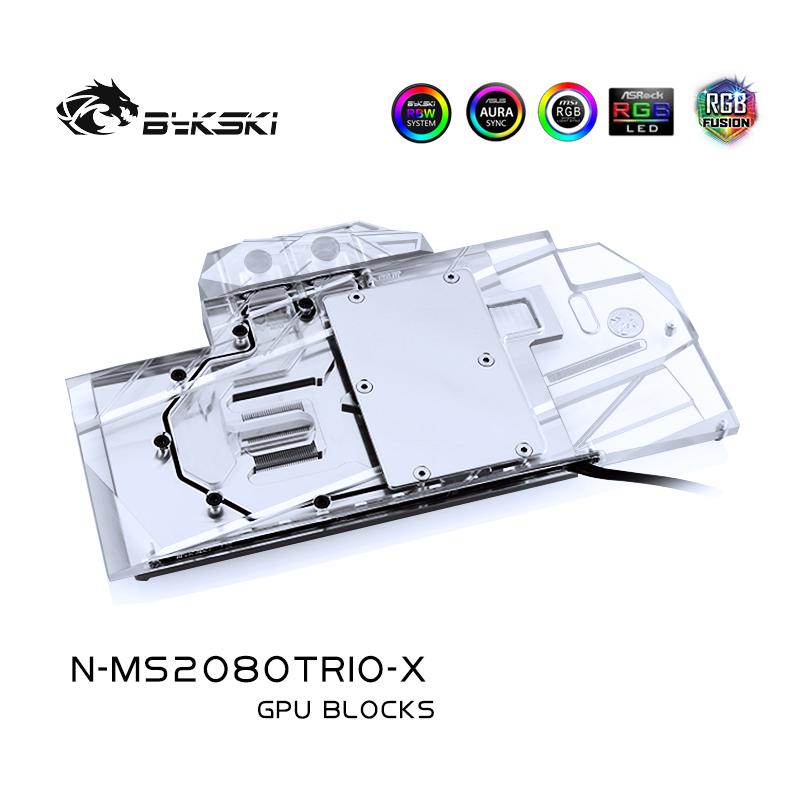 Bykski  N-MS2080TRIO-X MSI RTX 2080 GAMING X TRIO