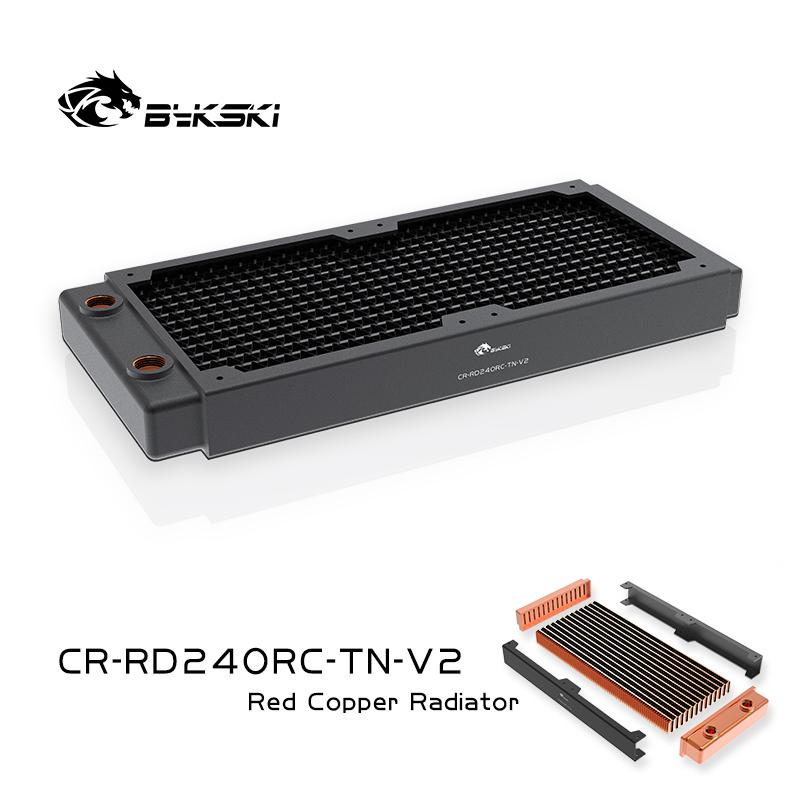 Bykski CR-RD240RC-TN-V2 RC series Red Copper high performance radiator