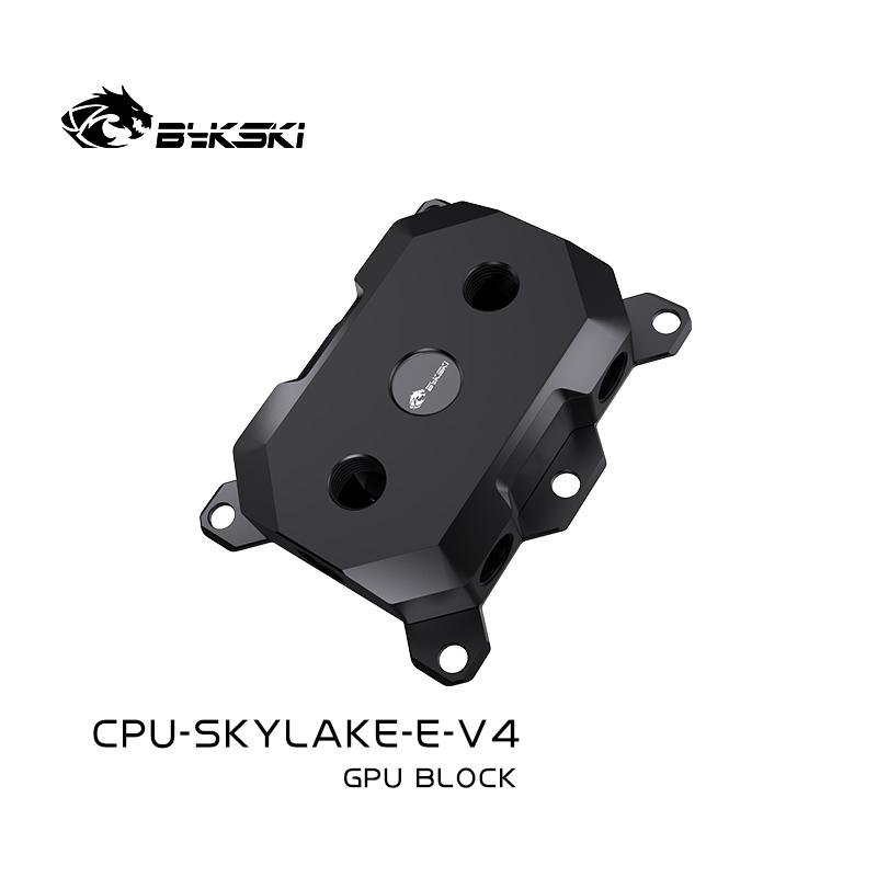Bykski CPU-SKYLAKE-E-V4 CPU BLOCKS Support LGA3647/SKYLAKE black POM