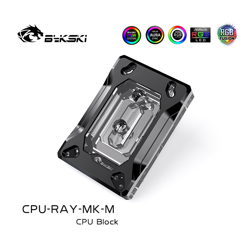 Bykski CPU-RAY-MK-M CPU  AMD Ryzen3/5/7X470 RBW