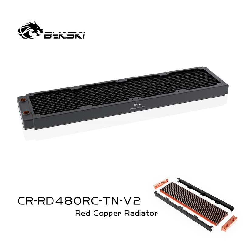 Bykski CR-RD480RC-TN-V2 RC series Red Copper high performance radiator