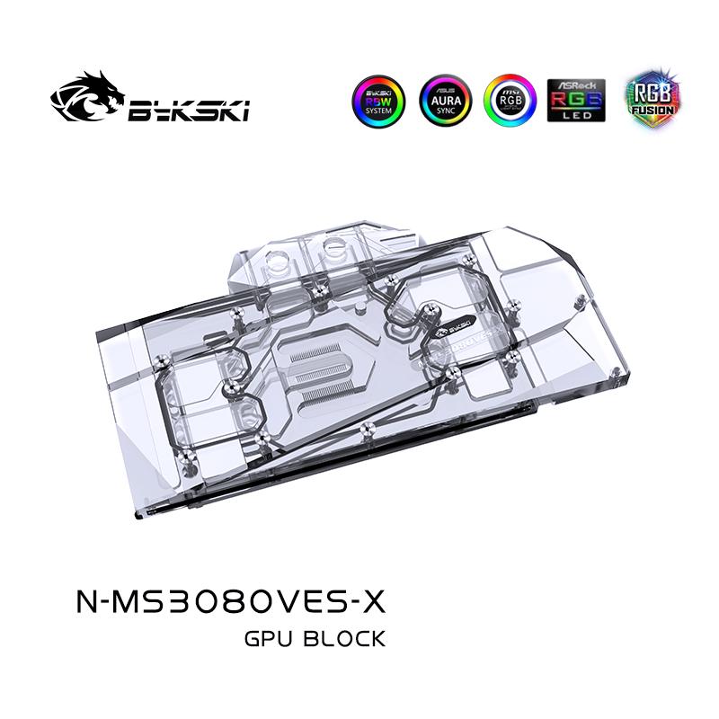 Bykski N-MS3080VES-X GPU BLOCK  MSI Geforce RTX3090 VENTU